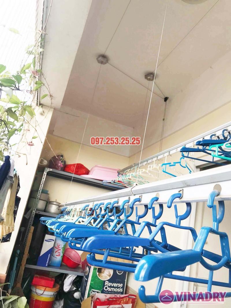 Sửa giàn phơi giá rẻ tại Hoàng Mai Hà Nội nhà chị Hân, chung cư Nam Đô Complex - 05