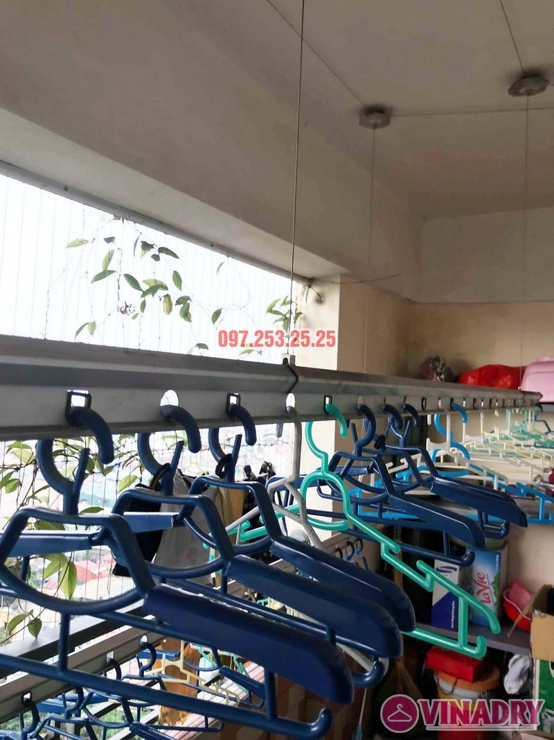 Sửa giàn phơi giá rẻ tại Hoàng Mai Hà Nội nhà chị Hân, chung cư Nam Đô Complex - 06