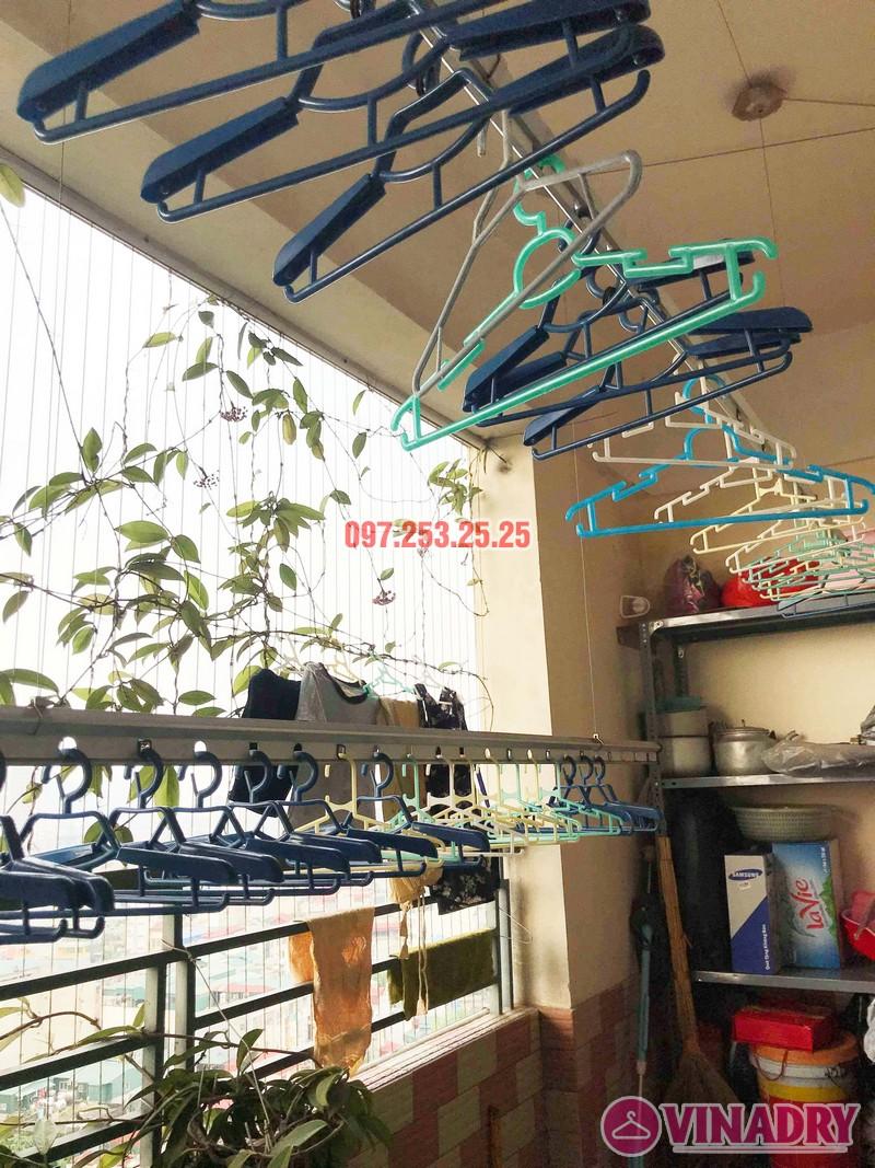 Sửa giàn phơi giá rẻ tại Hoàng Mai Hà Nội nhà chị Hân, chung cư Nam Đô Complex - 07