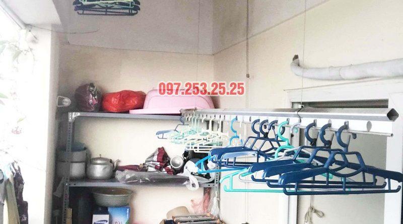 Sửa giàn phơi giá rẻ tại Hoàng Mai Hà Nội nhà chị Hân, chung cư Nam Đô Complex - 08