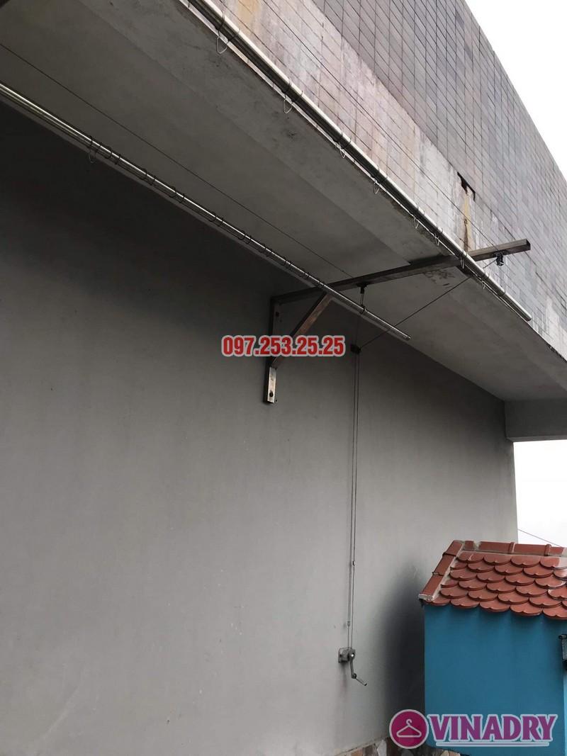 Thay dây giàn phơi thông minh nhà chị Yến, 20 Trường Trinh, Đống Đa, Hà Nội - 02