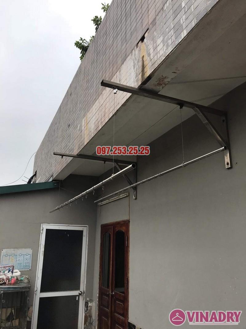 Thay dây giàn phơi thông minh nhà chị Yến, 20 Trường Trinh, Đống Đa, Hà Nội - 03