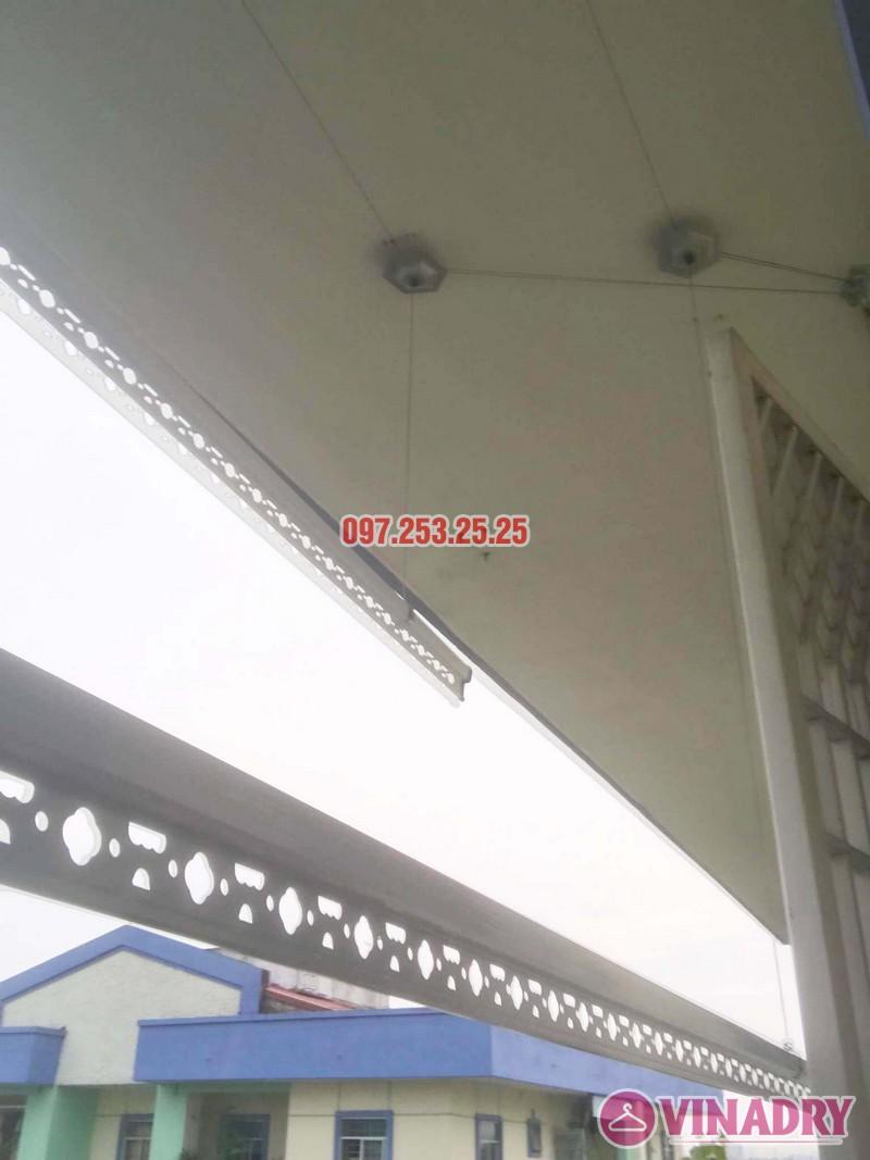 Sửa giàn phơi quần áo tại Long Biên nhà anh Tiền, KĐT Việt Hưng - 01