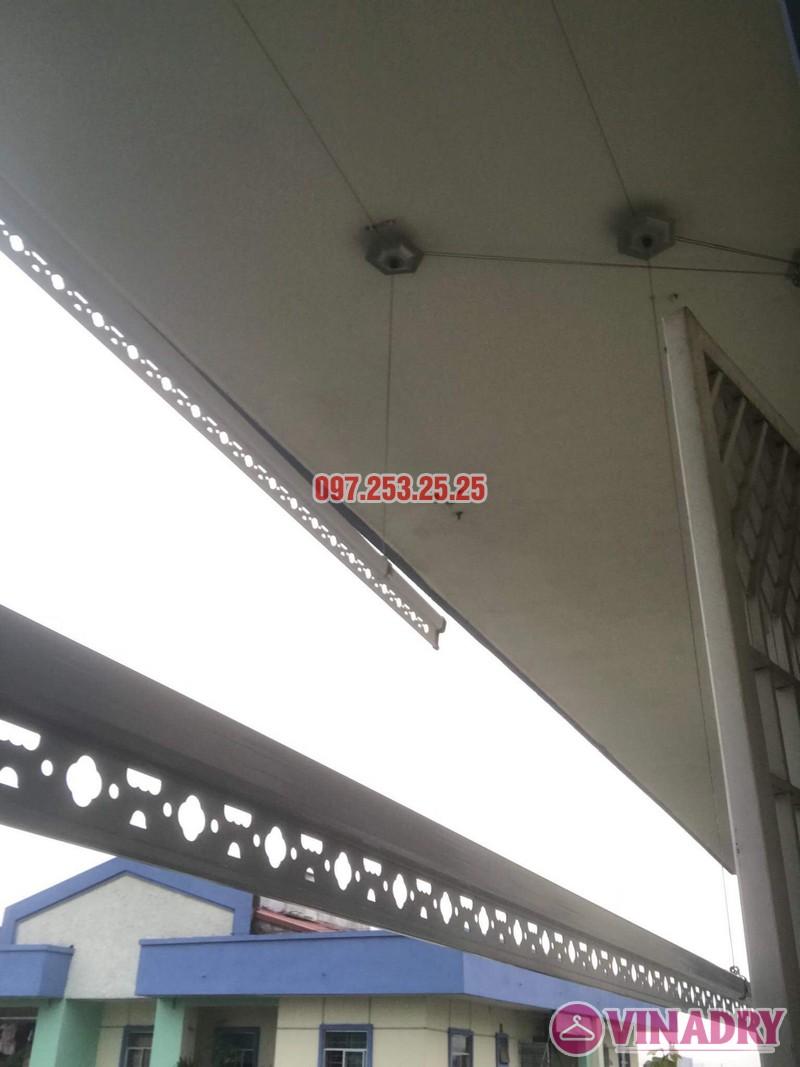 Sửa giàn phơi quần áo tại Long Biên nhà anh Tiền, KĐT Việt Hưng - 02