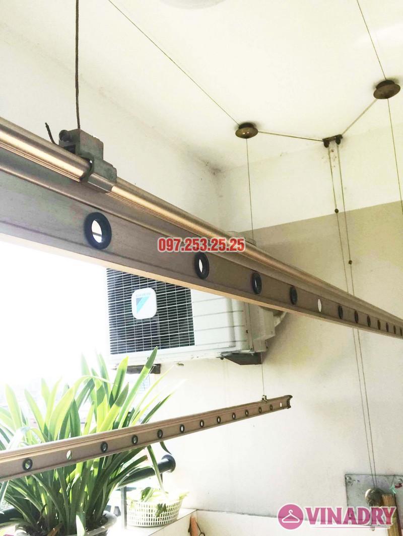 Sửa giàn phơi thông minh tại KĐT Việt Hưng Long Biên nhà chị Mai - 03