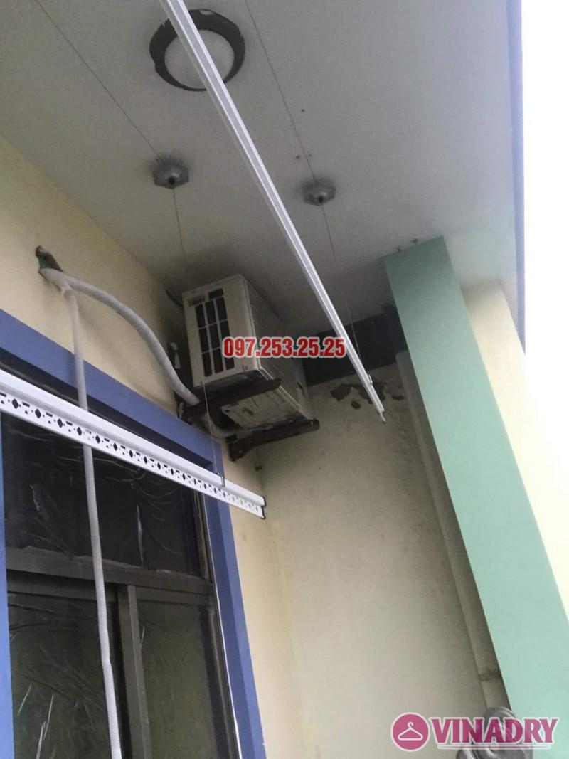 Sửa giàn phơi quần áo tại Long Biên nhà anh Tiền, KĐT Việt Hưng - 03