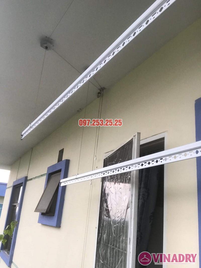 Sửa giàn phơi quần áo tại Long Biên nhà anh Tiền, KĐT Việt Hưng - 04