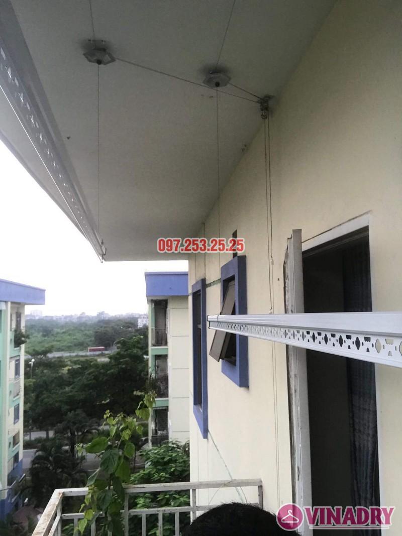 Sửa giàn phơi quần áo tại Long Biên nhà anh Tiền, KĐT Việt Hưng - 05