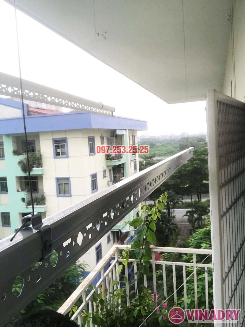 Sửa giàn phơi quần áo tại Long Biên nhà anh Tiền, KĐT Việt Hưng - 06