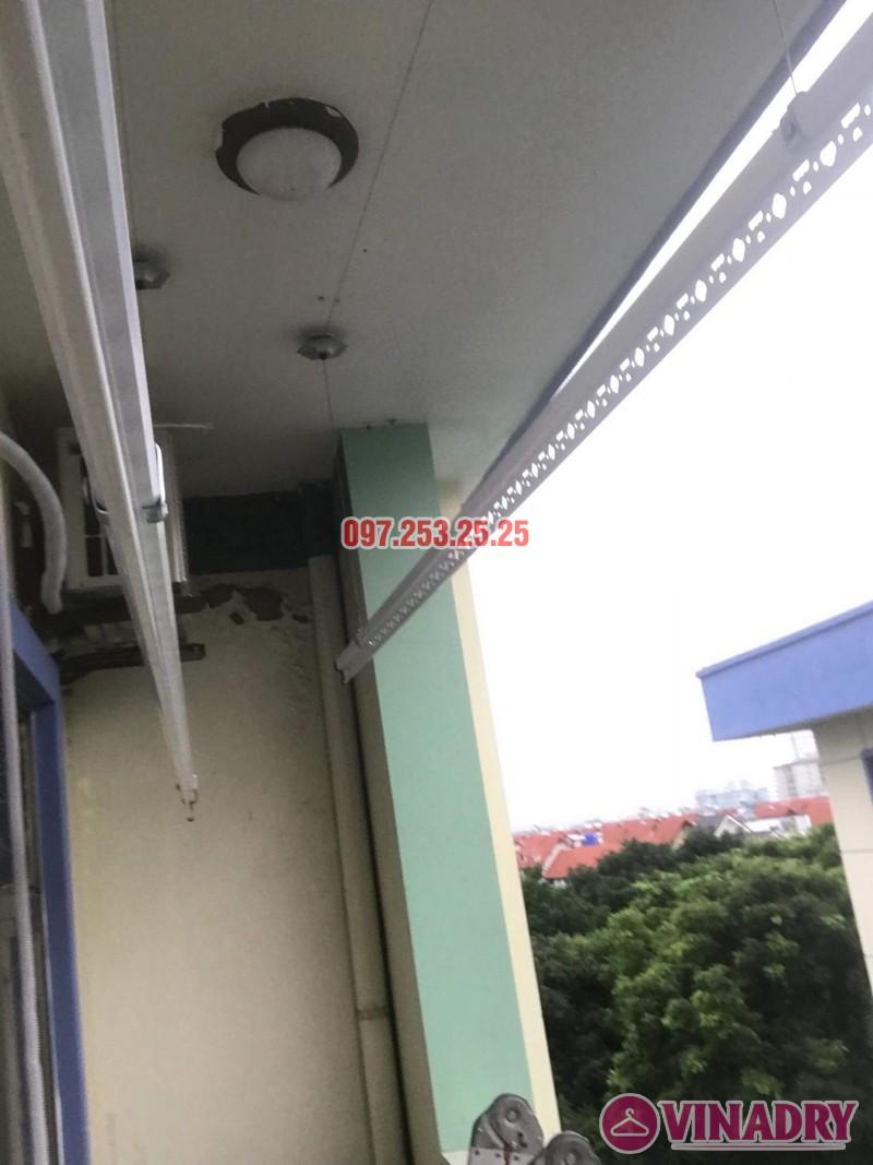 Sửa giàn phơi quần áo tại Long Biên nhà anh Tiền, KĐT Việt Hưng - 07
