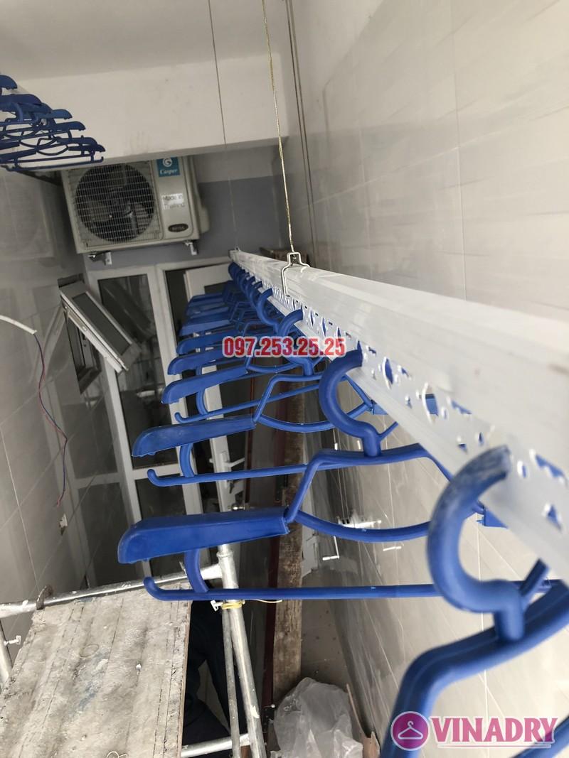 Lắp giàn phơi giá rẻ tại Đống Đa nhà anh Thúc căn 1712, CT2 Hoàng Cầu - 01
