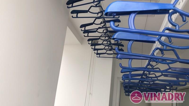 Lắp giàn phơi thông minh tại chung cư FLC Star Tower Hà Đông nhà chị Hải - 07