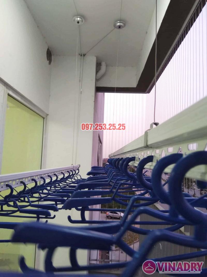 Lắp giàn phơi chung cư Xuân Phương Quốc Hội nhà chị Nga, căn 303, CT2B - 06