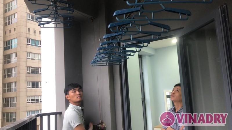 Lắp giàn phơi Vinadry GP902 tại chung cư Vinata Tower, 289 Khuất Duy Tiến nhà anh Tài - 08
