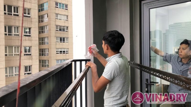Lắp giàn phơi Vinadry GP902 tại chung cư Vinata Tower, 289 Khuất Duy Tiến nhà anh Tài - 04