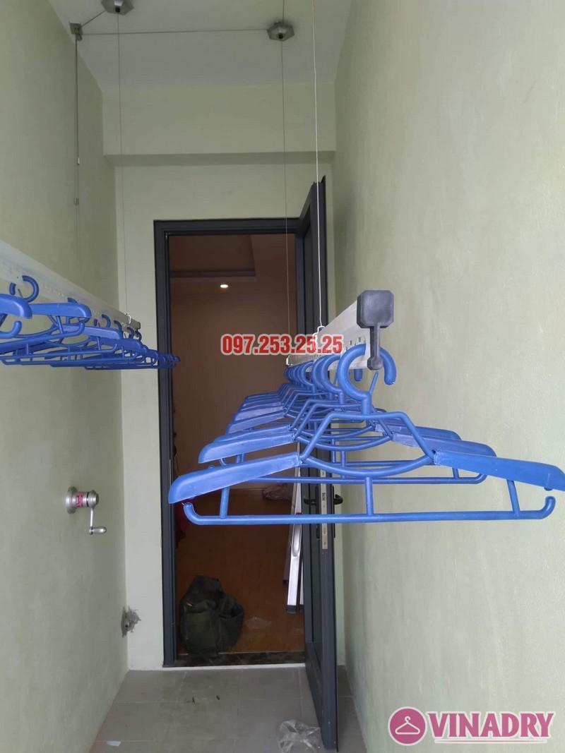 Lắp giàn phơi thông minh Hòa Phát KS950 nhà chị Mai, Tòa CT2A chung cư Gelexia Riverside - 01