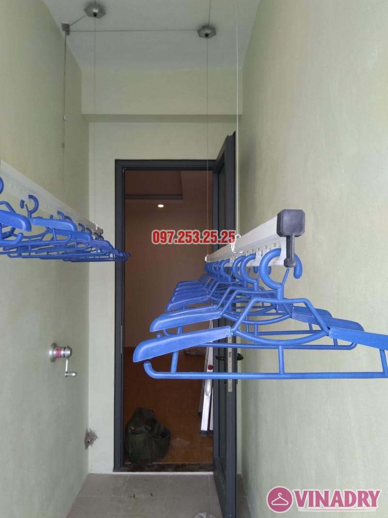 Lắp giàn phơi thông minh Hòa Phát KS950 nhà chị Mai, Tòa CT2A chung cư Gelexia Riverside - 03