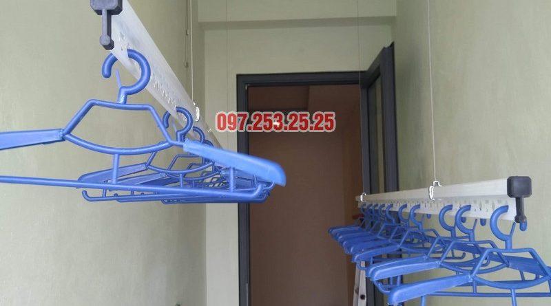 Lắp giàn phơi thông minh Hòa Phát KS950 nhà chị Mai, Tòa CT2A chung cư Gelexia Riverside - 04