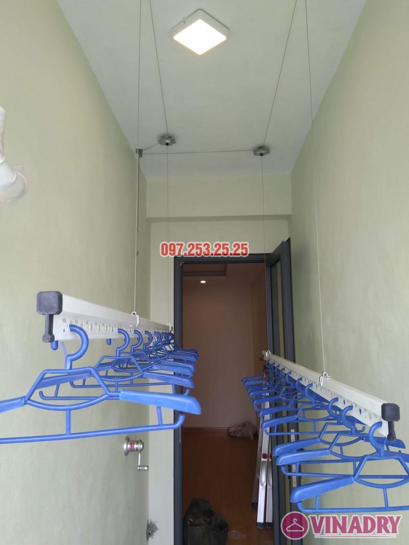 Lắp giàn phơi thông minh Hòa Phát KS950 nhà chị Mai, Tòa CT2A chung cư Gelexia Riverside - 05