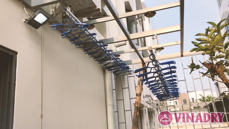 Lắp giàn phơi biệt thự, bộ VINADRY GP902 nhà anh Toàn, KĐT Gamuda Garden - 05