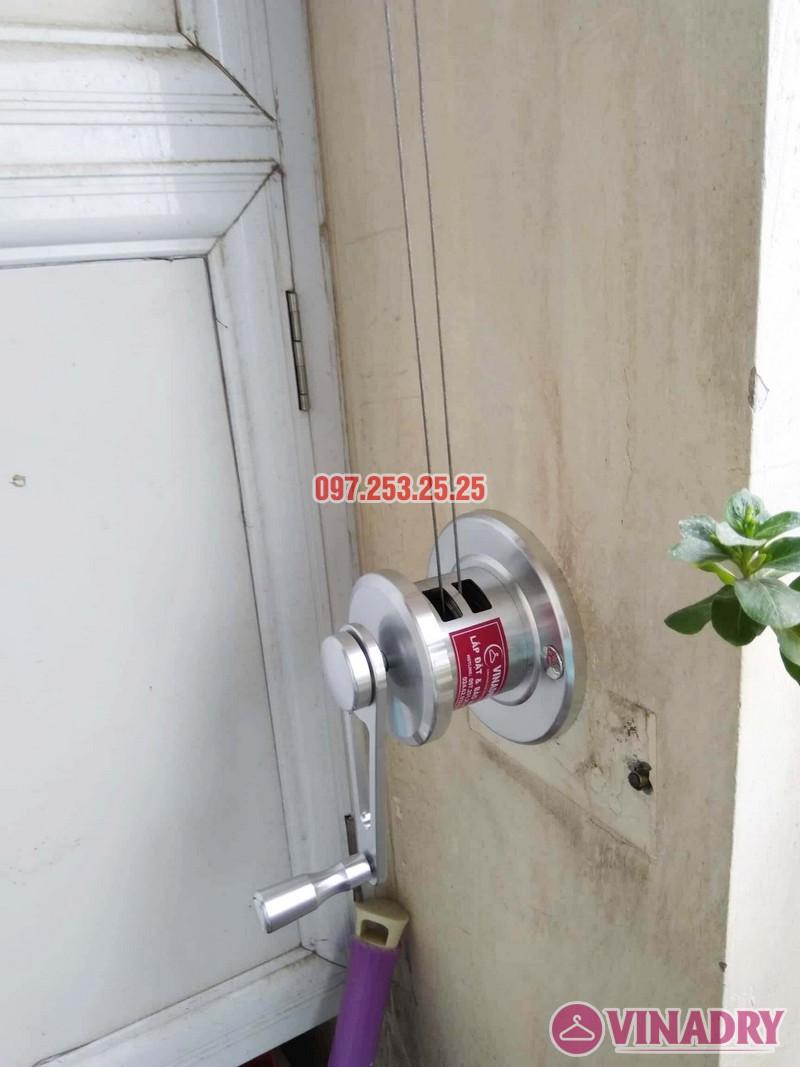 Lắp giàn phơi HP701 nhà chú Đăng, chung cư Nam Đô Complex, 609 Trương Định - 02