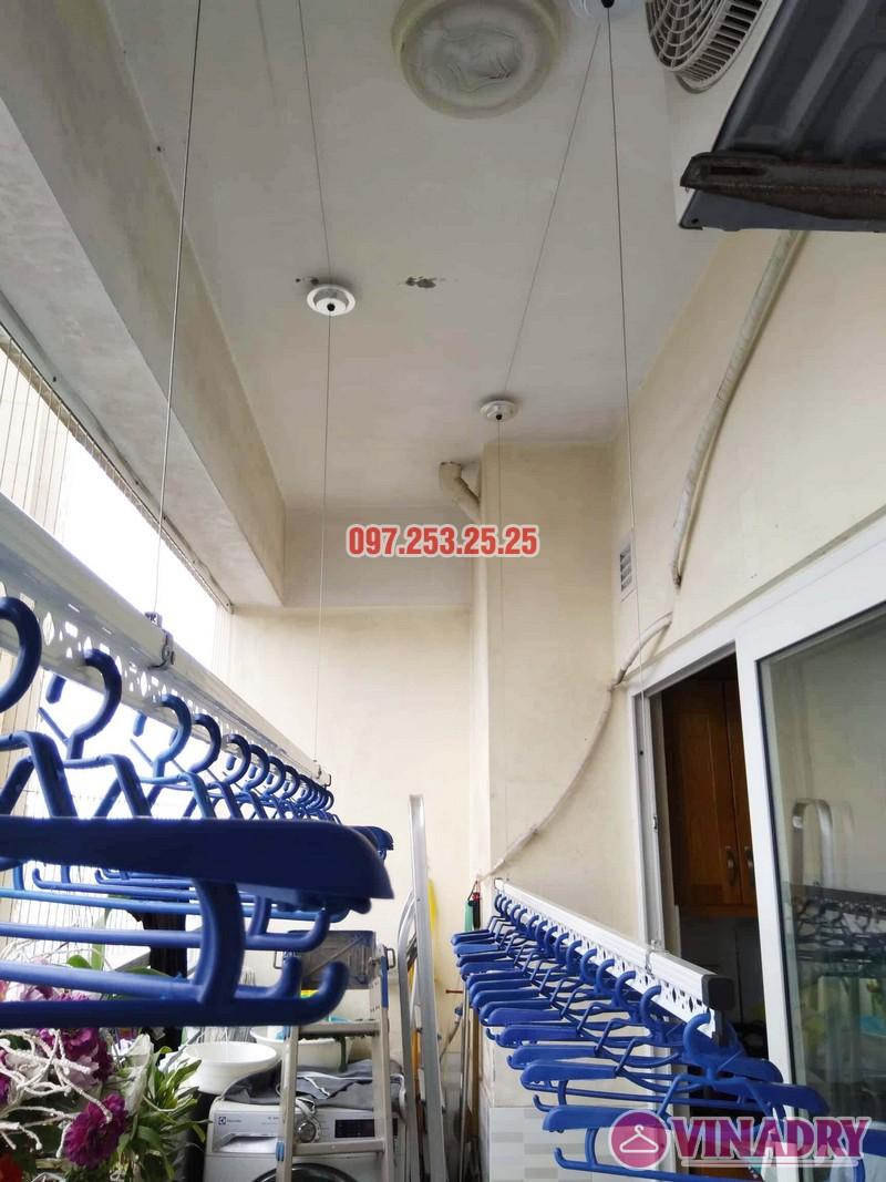 Lắp giàn phơi HP701 nhà chú Đăng, chung cư Nam Đô Complex, 609 Trương Định - 03