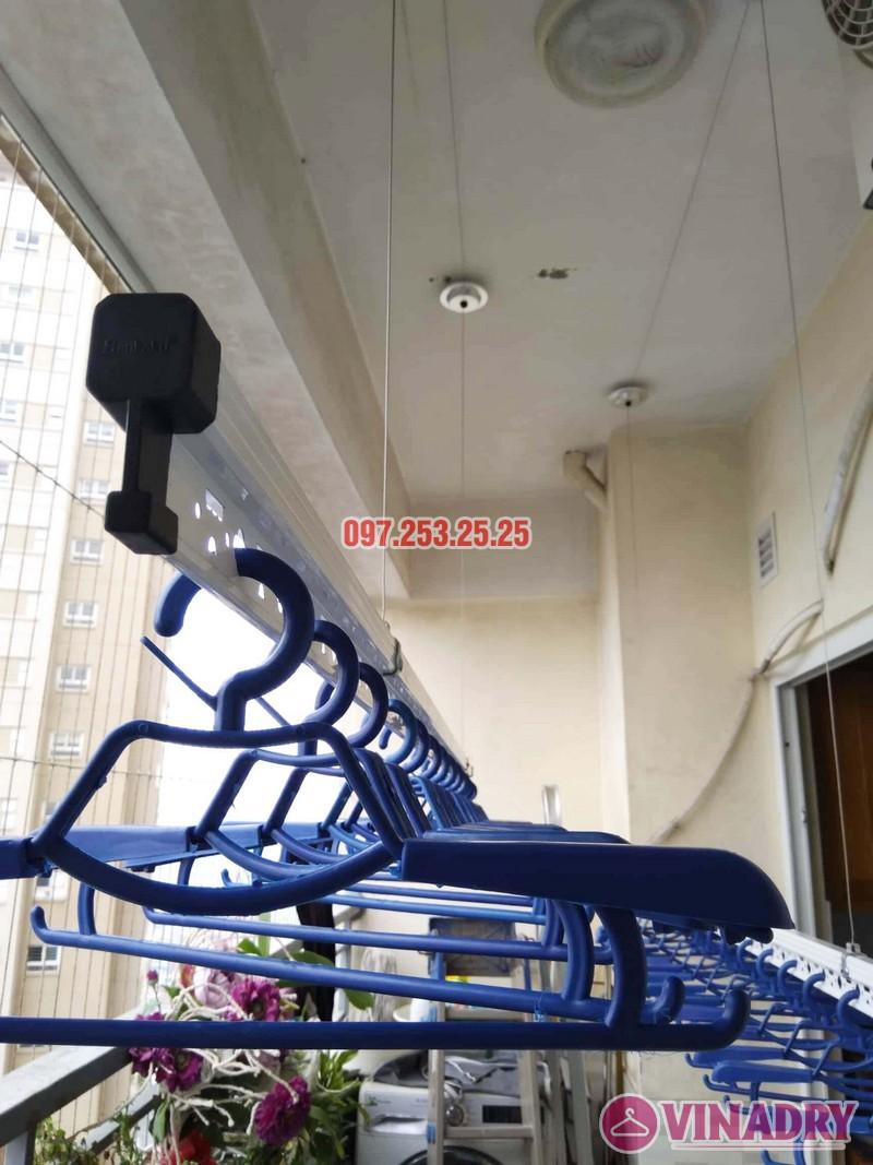 Lắp giàn phơi HP701 nhà chú Đăng, chung cư Nam Đô Complex, 609 Trương Định - 04