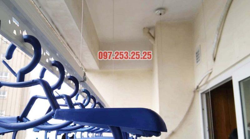 Lắp giàn phơi HP701 nhà chú Đăng, chung cư Nam Đô Complex, 609 Trương Định - 05