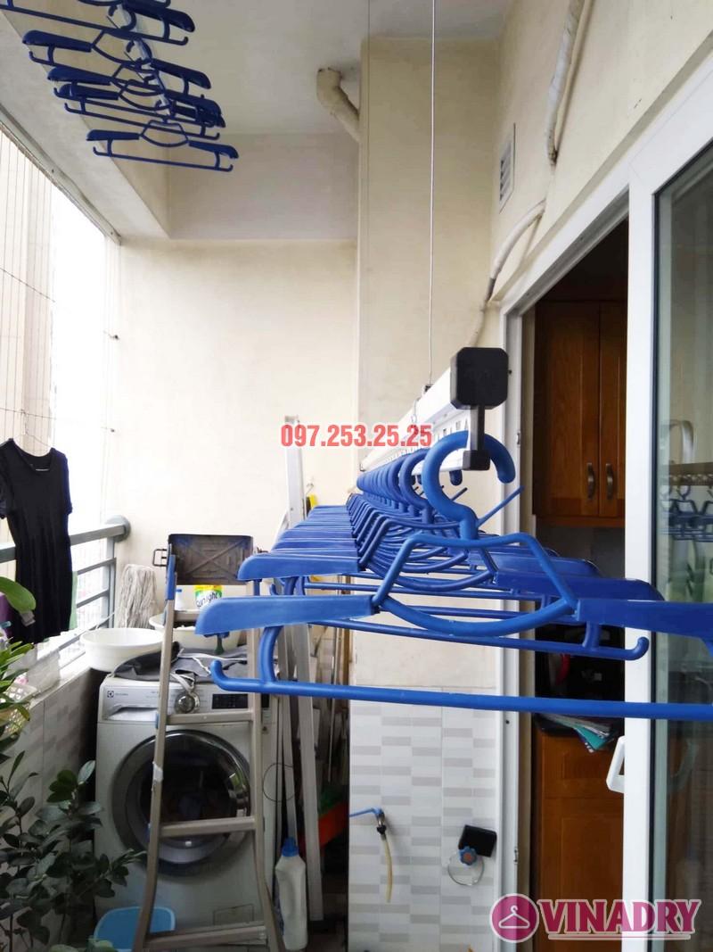 Lắp giàn phơi HP701 nhà chú Đăng, chung cư Nam Đô Complex, 609 Trương Định - 06
