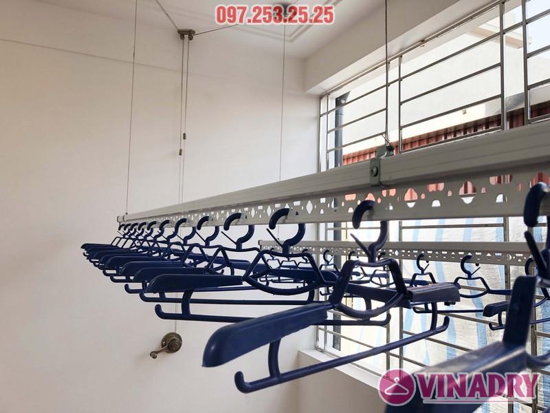 Lắp giàn phơi Vinadry gp902 nhà chị Ngân, số 10A6, KTT 918 Phúc Đồng, Long Biên - 05