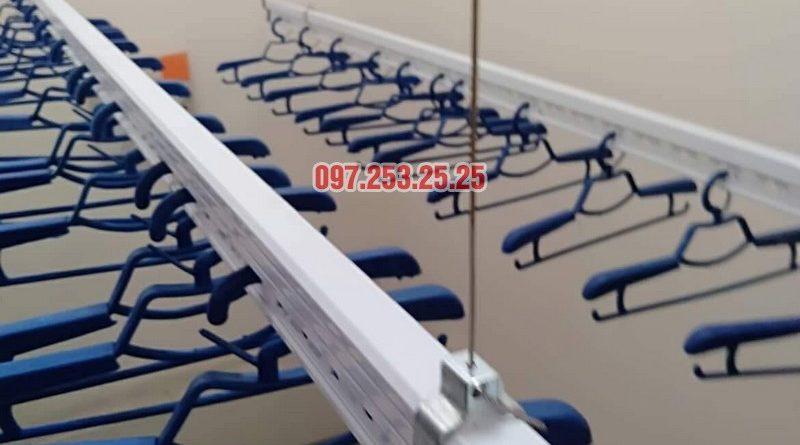 Lắp giàn phơi tại Hoàn Kiếm, Hà Nội nhà chị An, nhà C, Khu tập thể 2F Quang Trung - 06
