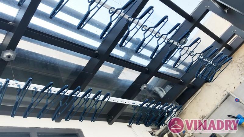 Lắp giàn phơi điện tự động nhà anh Cao, căn 2902 chung cư N04 Udic Complex Cầu Giấy - 07