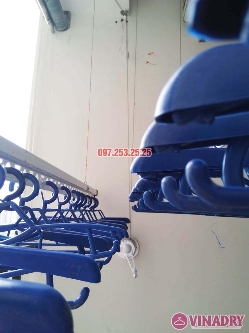 Lắp giàn phơi Hòa Phát tại Tây Hồ nhà chị Thảo, Tòa A chung cư Lạc Hồng Westlake - 03