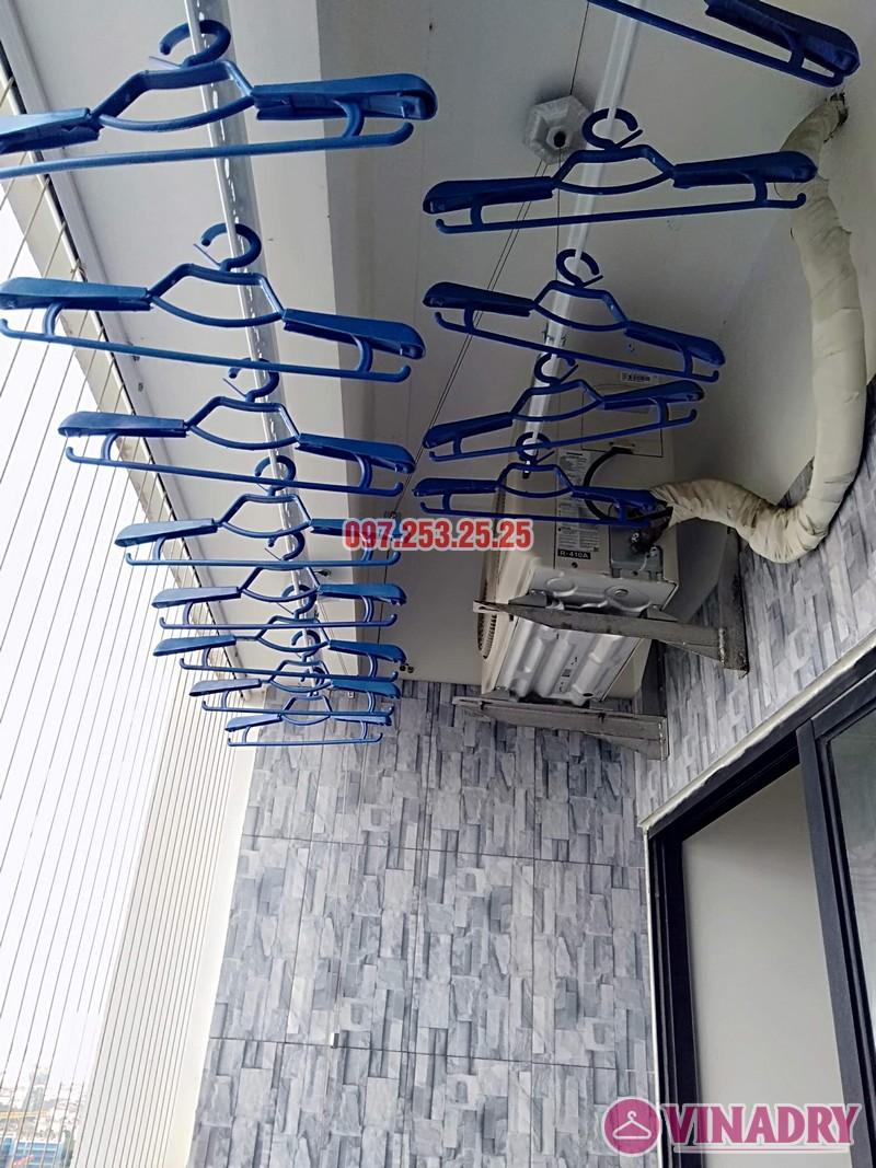 Lắp giàn phơi tại chung cư Vinaconex 2, KĐT Kim Văn Kim Lũ nhà chị Hà căn 2917 tòa C - 07