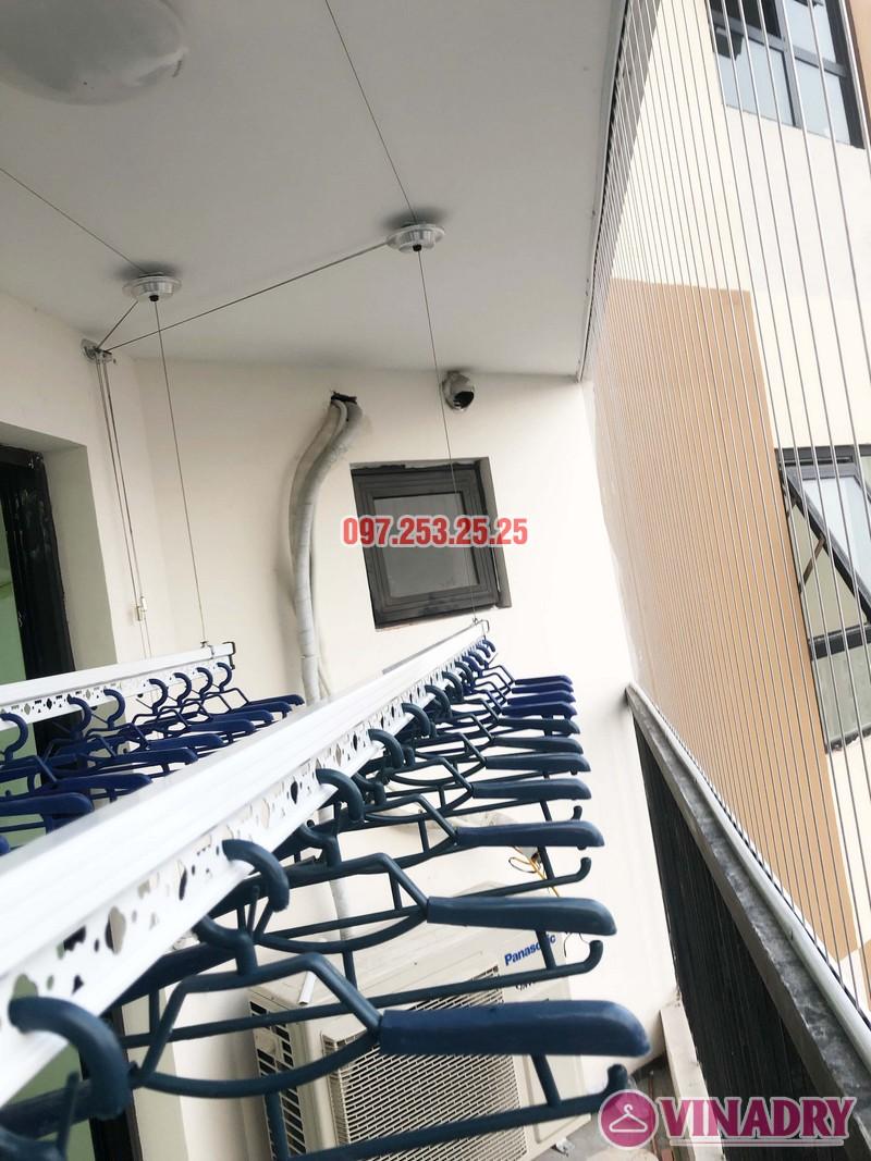 Lắp giàn phơi thông minh, lưới an toàn chung cư Golden Field Mỹ Đình nhà chị Hồng - 06