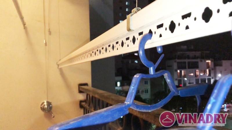 Lắp giàn phơi thông minh tại Royal City nhà chị Minh, Tòa R2 - 05