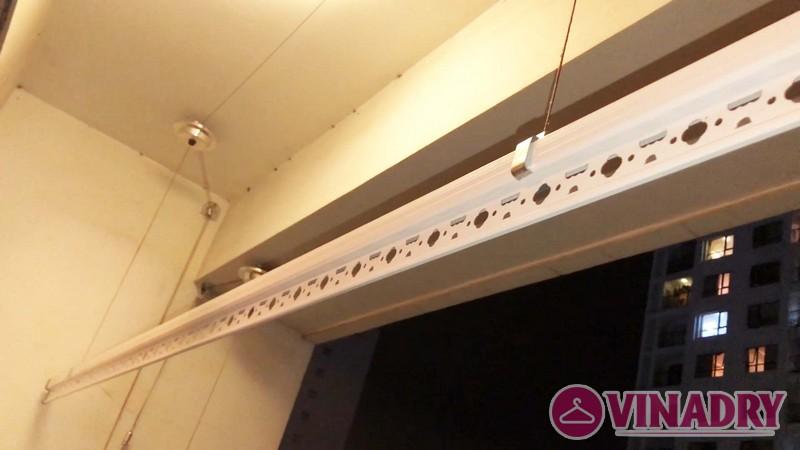 Lắp giàn phơi thông minh tại Royal City nhà chị Minh, Tòa R2 - 07