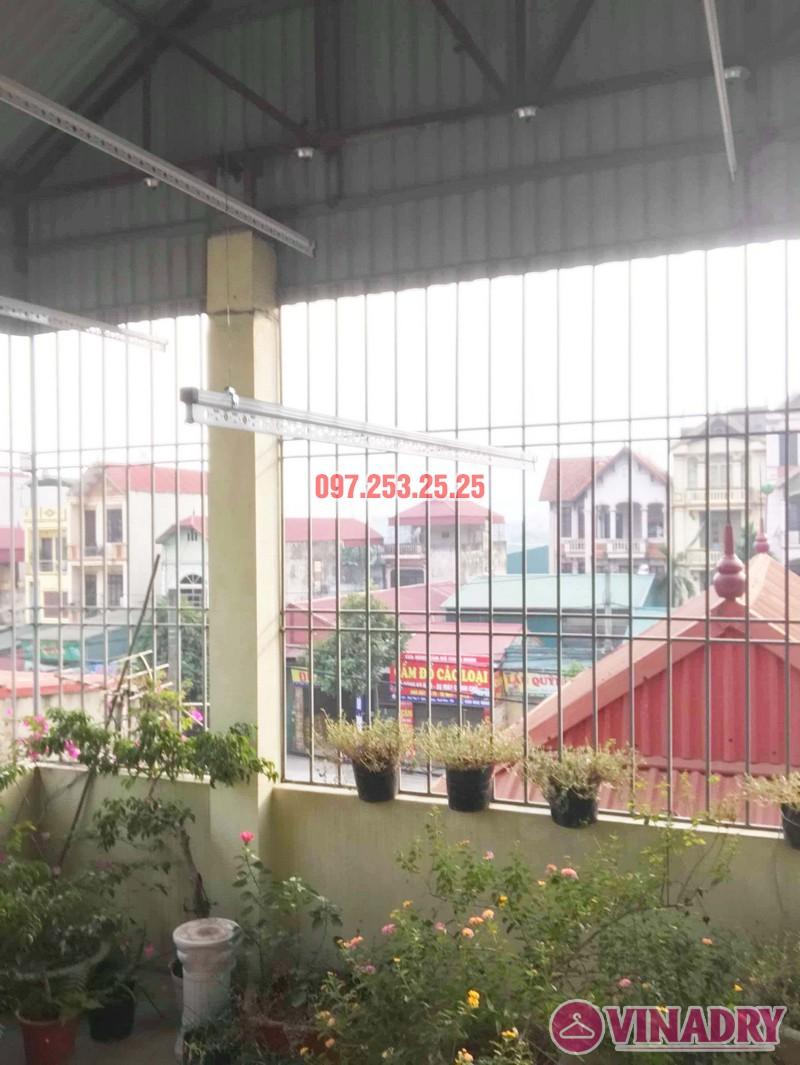 Cách lắp giàn phơi thông minh cho trần mái tôn nhà cô Hảo, Hà Đông, Hà Nội - 04