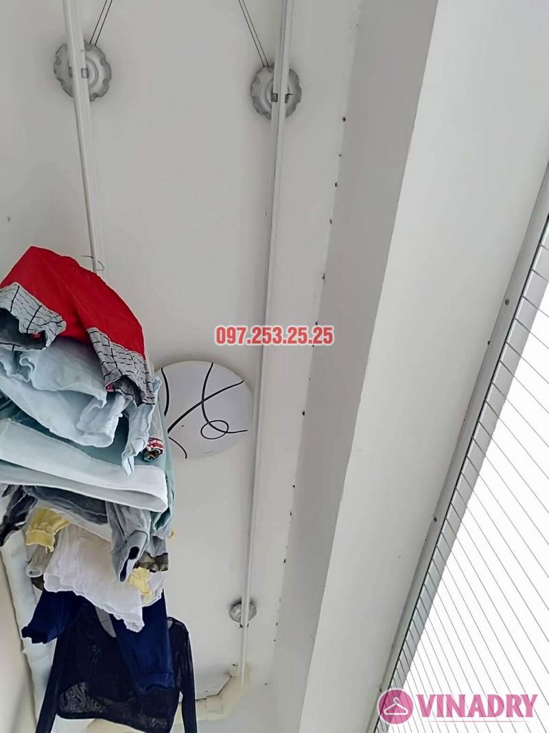 Sửa giàn phơi thông minh tại Cầu Giấy nhà chị Hoa, chung cư CT1, ngõ 62 Trần Bình - 01