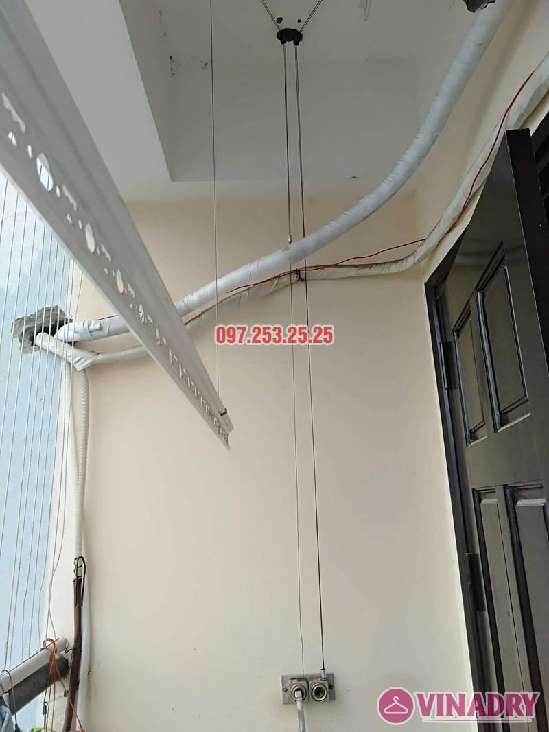 Sửa giàn phơi thông minh tại Cầu Giấy nhà chị Hoa, chung cư CT1, ngõ 62 Trần Bình - 03