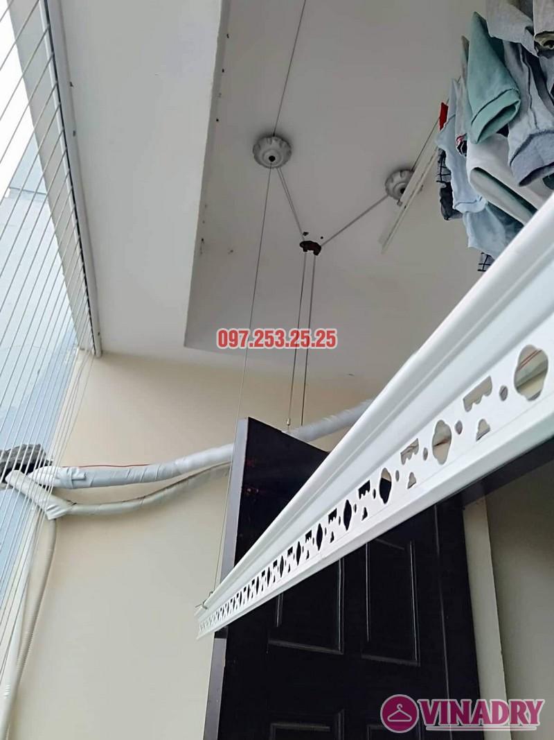 Sửa giàn phơi thông minh tại Cầu Giấy nhà chị Hoa, chung cư CT1, ngõ 62 Trần Bình - 04