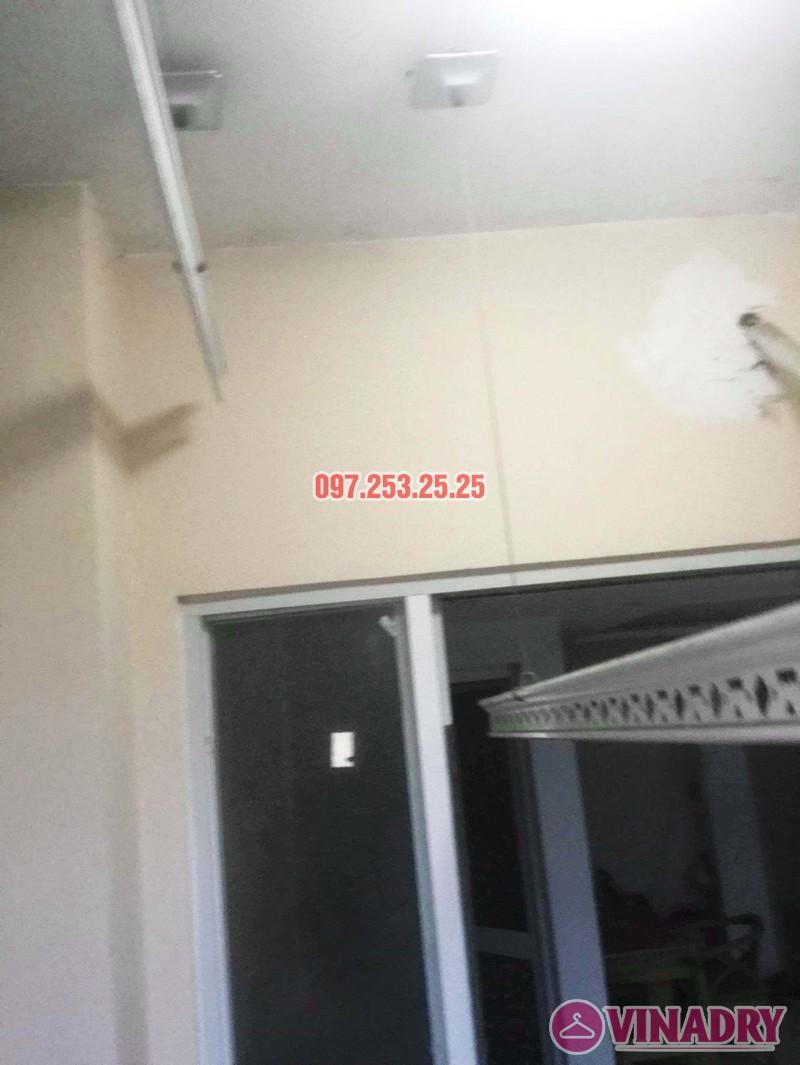 Thay dây giàn phơi thông minh chỉ 250k tại nhà chị Thơ, chung cư Hòa Bình Green - 03