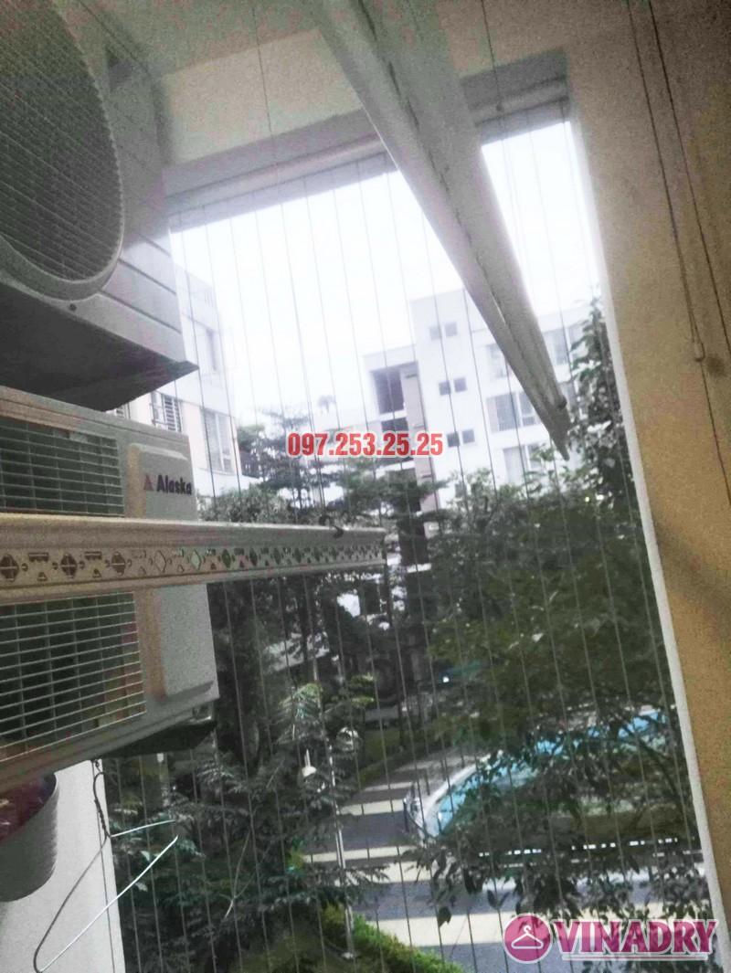 Thay dây giàn phơi thông minh chỉ 250k tại nhà chị Thơ, chung cư Hòa Bình Green - 05