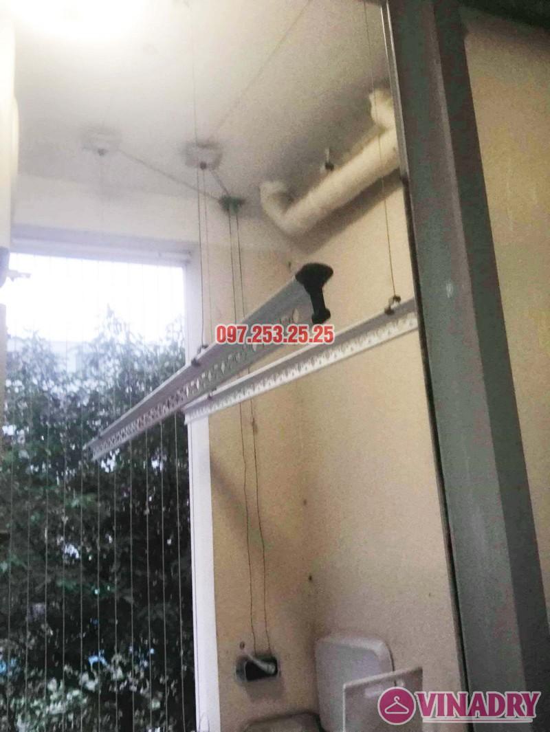Thay dây giàn phơi thông minh chỉ 250k tại nhà chị Thơ, chung cư Hòa Bình Green - 06