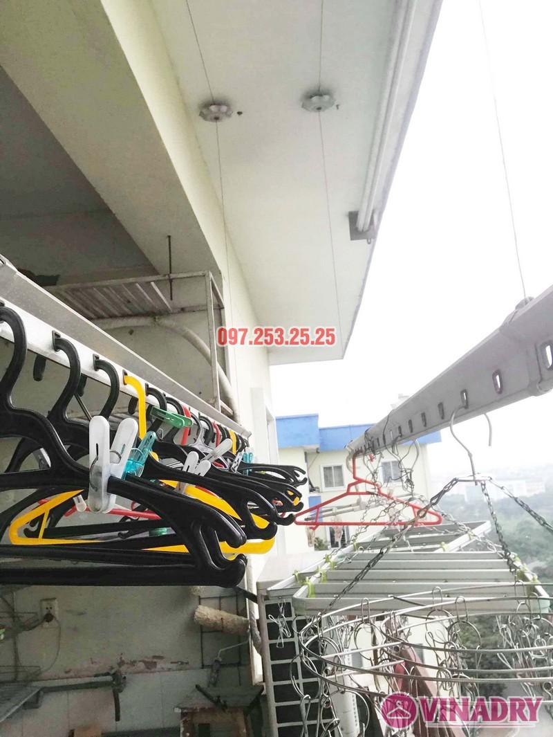 Sửa giàn phơi, thay linh kiện giá rẻ tại Hà Nội nhà chị Hà, KĐT Việt Hưng - 01