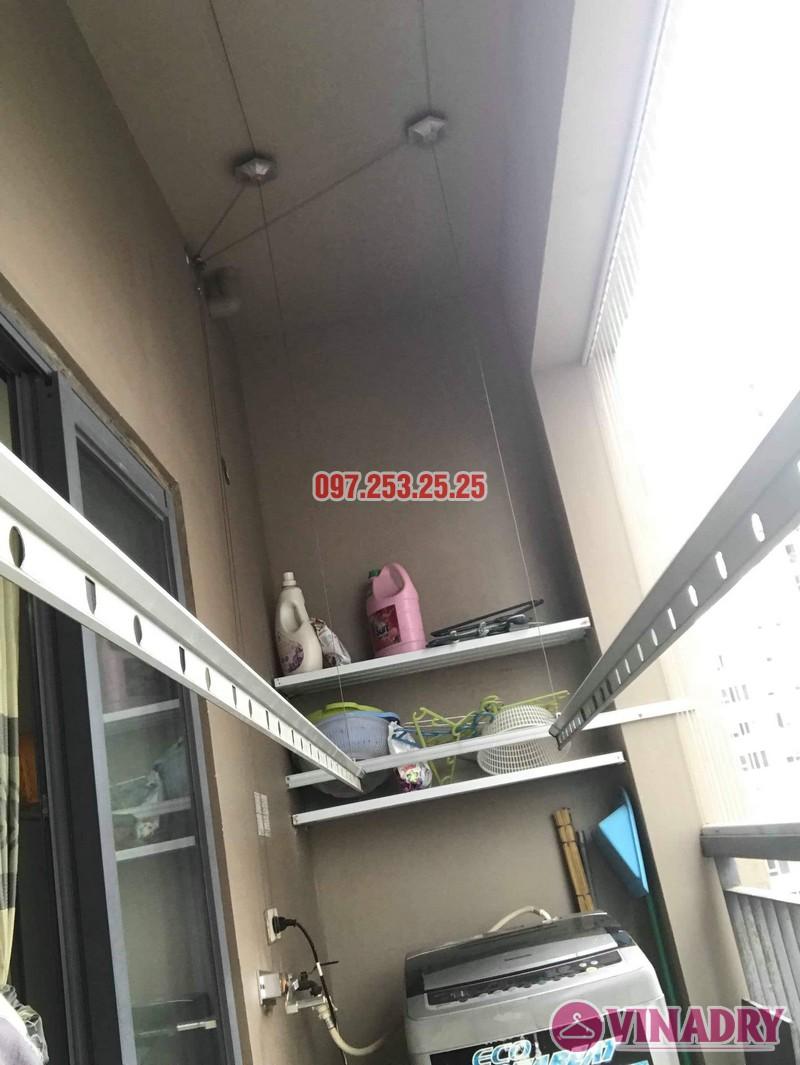Sửa giàn phơi thông minh Đống Đa nhà chị Bình, chung cư Capital Garden 102 Trường Trinh - 01