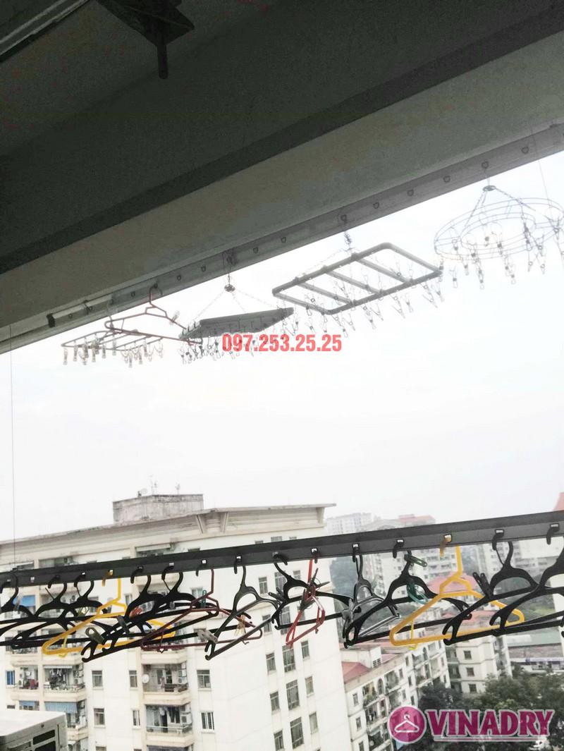 Sửa giàn phơi, thay linh kiện giá rẻ tại Hà Nội nhà chị Hà, KĐT Việt Hưng - 02