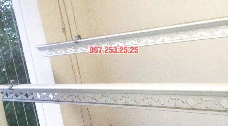 Sửa giàn phơi thông minh bị đứt dây cáp tại KĐT Đặng Xá, Gia Lâm, Hà Nội - 01