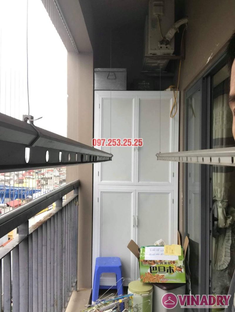 Sửa giàn phơi thông minh Đống Đa nhà chị Bình, chung cư Capital Garden 102 Trường Trinh - 03