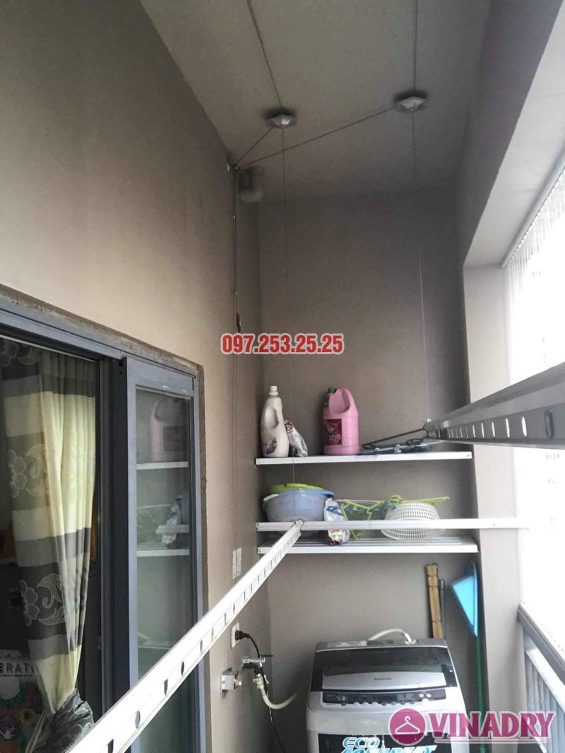 Sửa giàn phơi thông minh Đống Đa nhà chị Bình, chung cư Capital Garden 102 Trường Trinh - 04